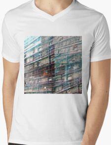 CAM02246-CAM02249_GIMP_B Mens V-Neck T-Shirt