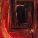 Firey Mine Shaft by nushie