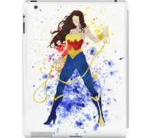 Superheroine Splatter Art iPad Case/Skin