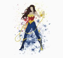 WonderWoman Splatter Art T-Shirt