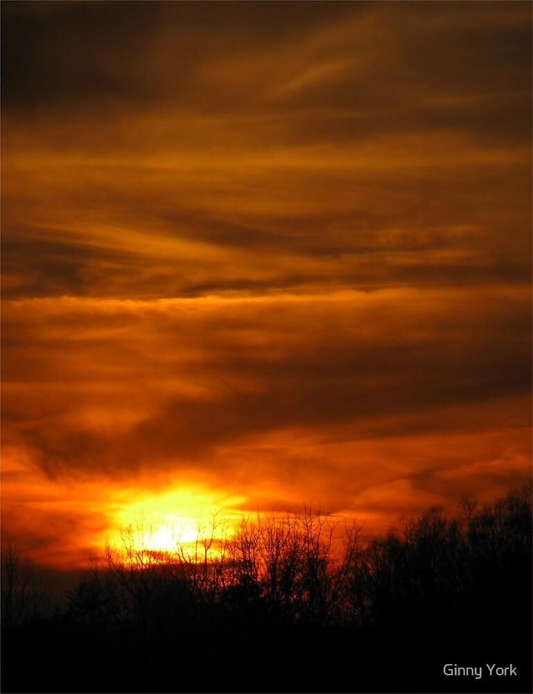 Virginia Sunset by Ginny York