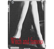 Witch and Famous Retro Fashion  iPad Case/Skin