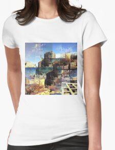 CAM02282-CAM02285_GIMP_B Womens Fitted T-Shirt