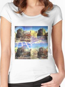 CAM02282-CAM02285_GIMP_C Women's Fitted Scoop T-Shirt