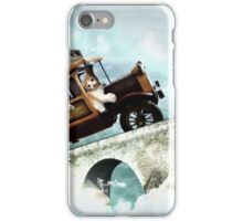 The Tabbytown Transport iPhone Case/Skin