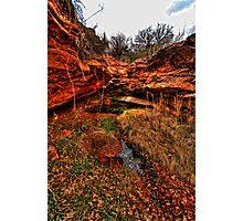 RockHollow Ravine Photographic Print