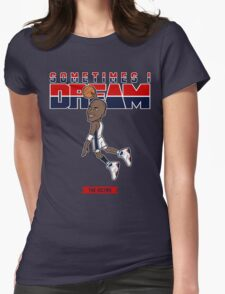"""VICTRS """"Keep Dreamin"""" Womens Fitted T-Shirt"""