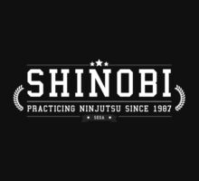 Shinobi - Retro White Clean by garudoh