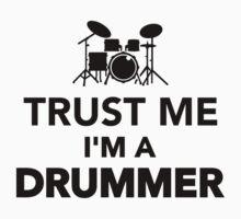 Trust me I'm a Drummer Kids Clothes
