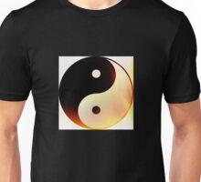 Yin and Yang Flame Unisex T-Shirt