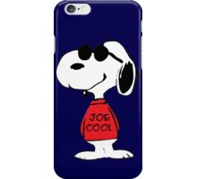 Snoopy in Joe Cool iPhone Case/Skin