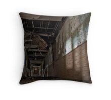 Light room hopscotch Throw Pillow