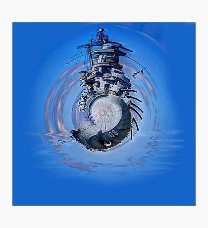 Battleship - Contemporary Digital Art Photographic Print