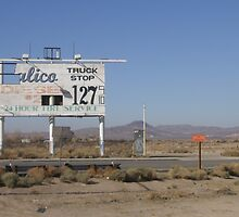 Roadtrip savior, Calico Truck Stop by Susanne Björklund