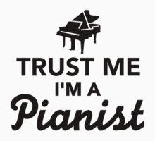Trust me I'm a pianist Kids Clothes