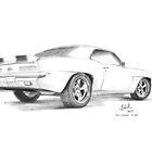 1969 Chevrolet Camaro Z-28 by Joseph Colella