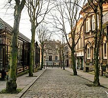 Looking from Montpeleir Parade, Harrogate by Christine Smith