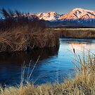 Owens River Sunrise by Nolan Nitschke