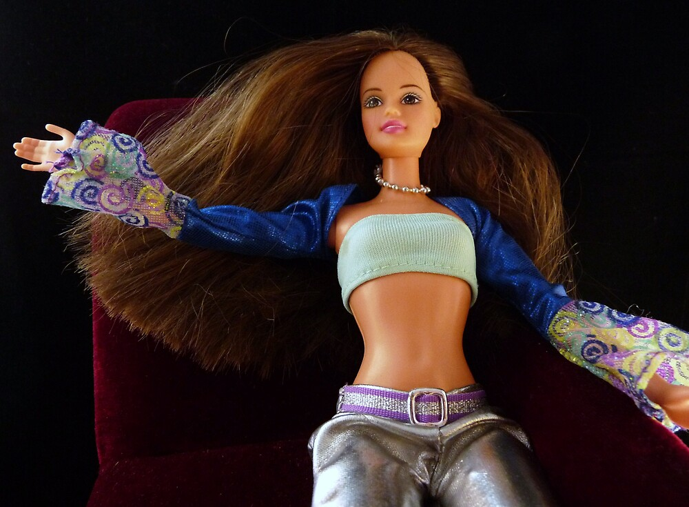 After 50 years of virginity, Barbie collapses on the Psychiatrists Couch when she finds out Ken has No Genitals by Barbara Morrison