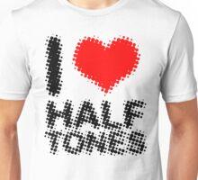 Some halftone love Unisex T-Shirt