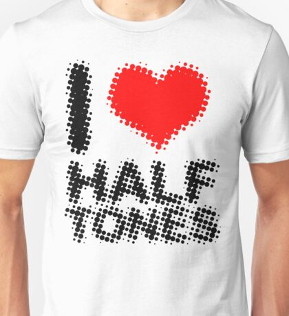 Some halftone love Unisex T-Shirt
