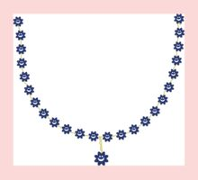 Smiley Necklace Kids Clothes