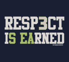 "VICTRS ""Resp3ct Is Earned""  T-Shirt"