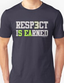 """VICTRS """"Resp3ct Is Earned""""  T-Shirt"""