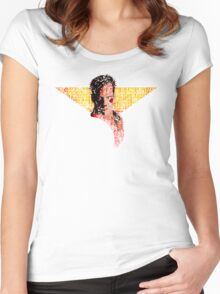 """""""McClane"""" Women's Fitted Scoop T-Shirt"""