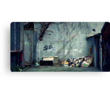 Pop Up Cafe Canvas Print