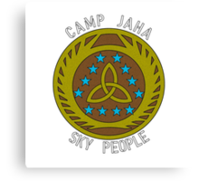 The Camp Jaha Sky People Canvas Print