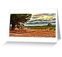 Vineyard Playground Greeting Card