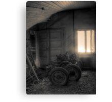 'Backroom' (hdr) Canvas Print