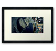 Blue Murder Framed Print