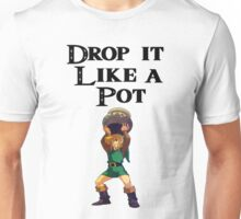 Drop it like a pot! Zelda Shirt Unisex T-Shirt