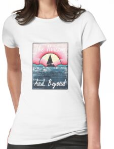The Horizon & Beyond Womens Fitted T-Shirt