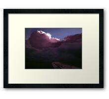 Arctic Thunderstorm Framed Print