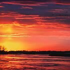 Platte River Sunset by Owed to Nature