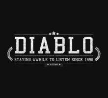 Diablo - Retro White Dirty by garudoh