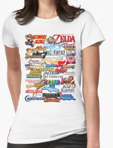Retro Nintendo Titles  T-Shirt