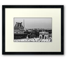 View from Louvre Paris Framed Print