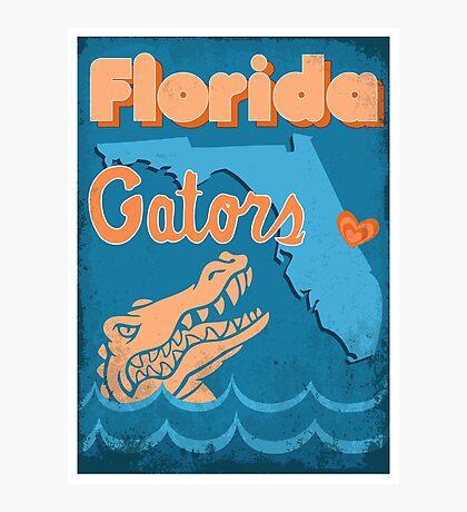 Florida Gators Photographic Print