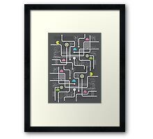 Return Of The Retro Video Games Circuit Board Framed Print