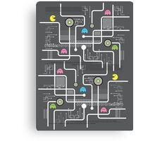 Return Of The Retro Video Games Circuit Board Canvas Print
