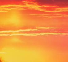 Platte River Sunset Sticker