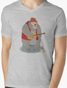 Big Al, The Country Bear Mens V-Neck T-Shirt