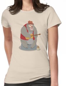 Big Al, The Country Bear Womens Fitted T-Shirt