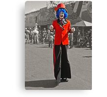 The Clown - Just For Fun Canvas Print