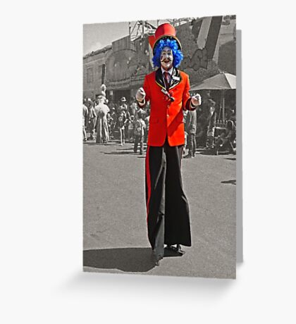 The Clown - Just For Fun Greeting Card