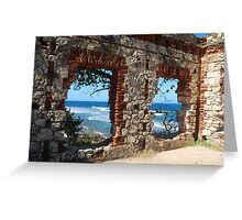 Windows to the Ocean Greeting Card